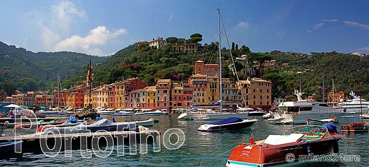 Portofino Ferienort Auf Der Halbinsel Portofino An Der